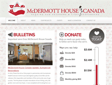 Tablet Preview of mcdermotthousecanada.org